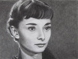 Audrey Hepburn (Roman Holiday) by Galatea-LE