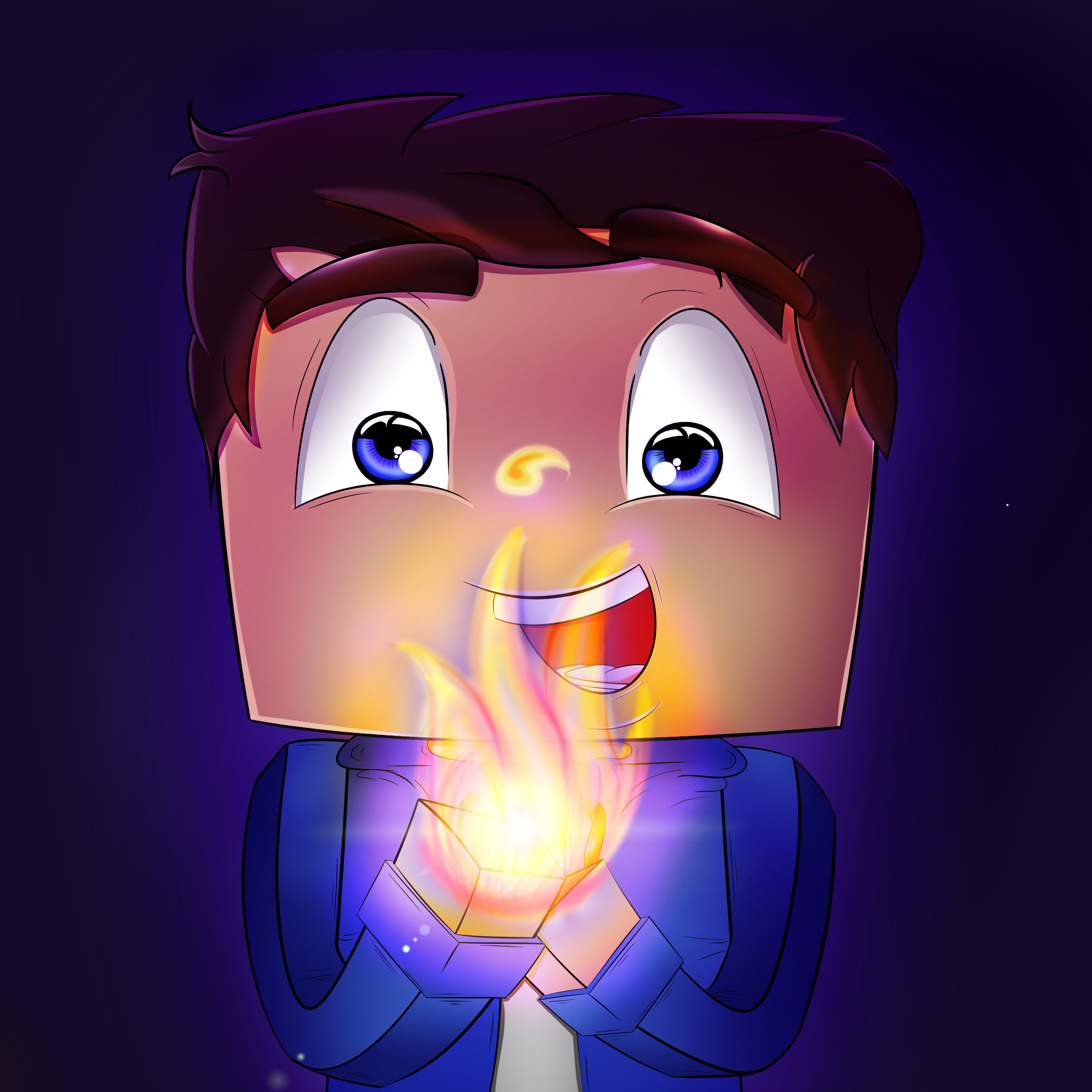 Thehypercraftt Avatar Minecraft Artwork By Pigpal2 On