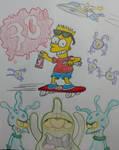 Bart vs. the Space Mutants by SecretName1010