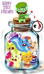 Bottle of  HTF by CubPop
