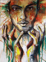 Alpha (self portrait) by AlfieAlphA