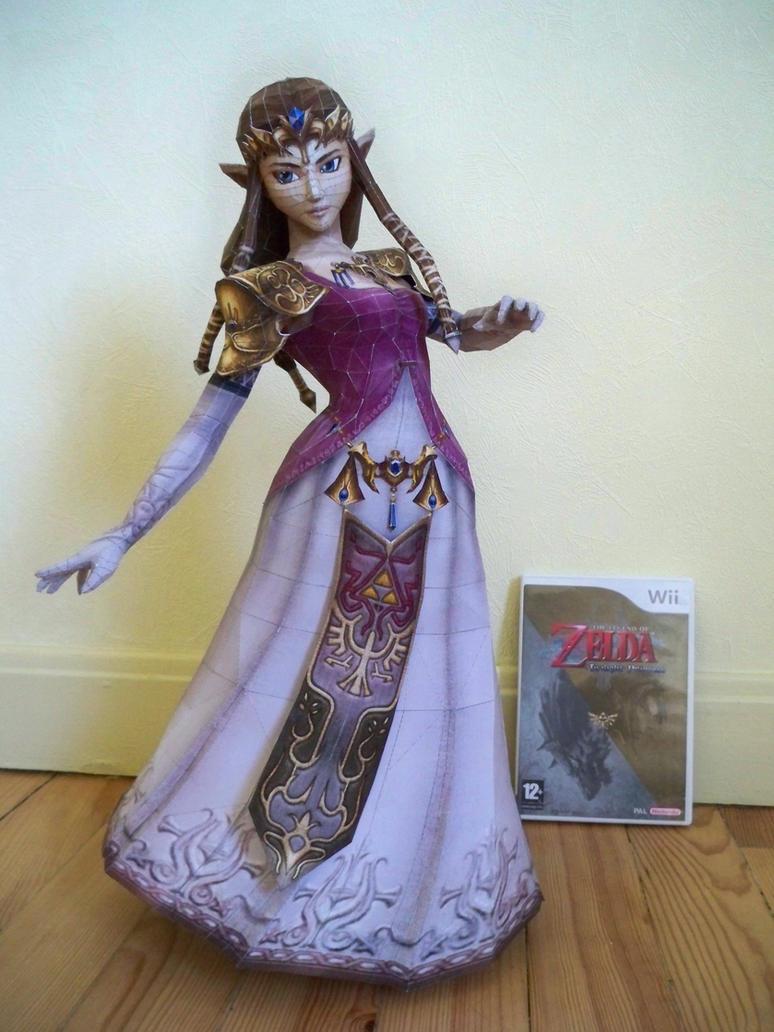Papercraft Zelda TP by Itisforyou