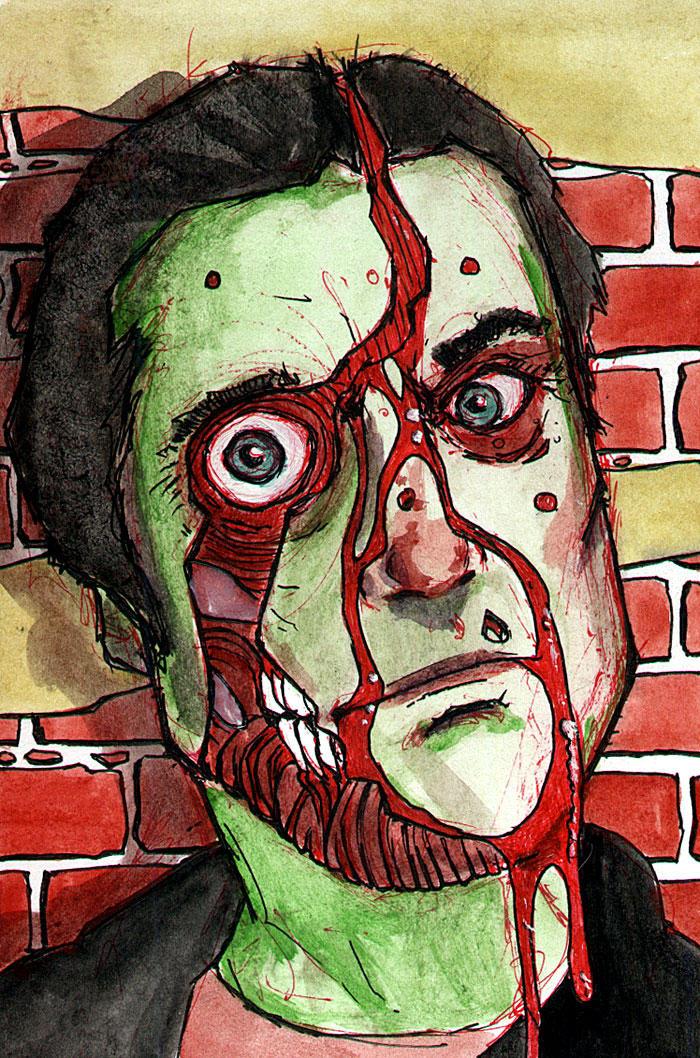 zombie 0032 by BYRONvonREMPEL