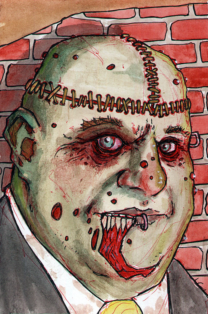zombie 0035 by BYRONvonREMPEL