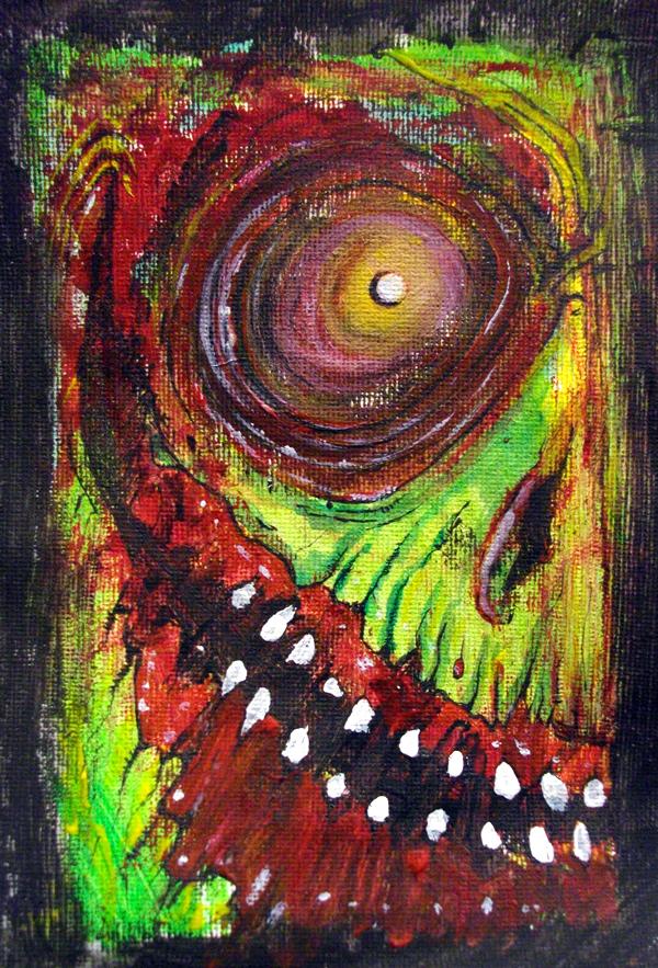 Grinning Evil by BYRONvonREMPEL