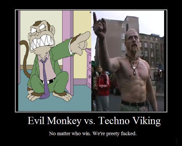 Io cosa ascolto? Evil_monkey_vs_Techno_Viking_by_Orgianin