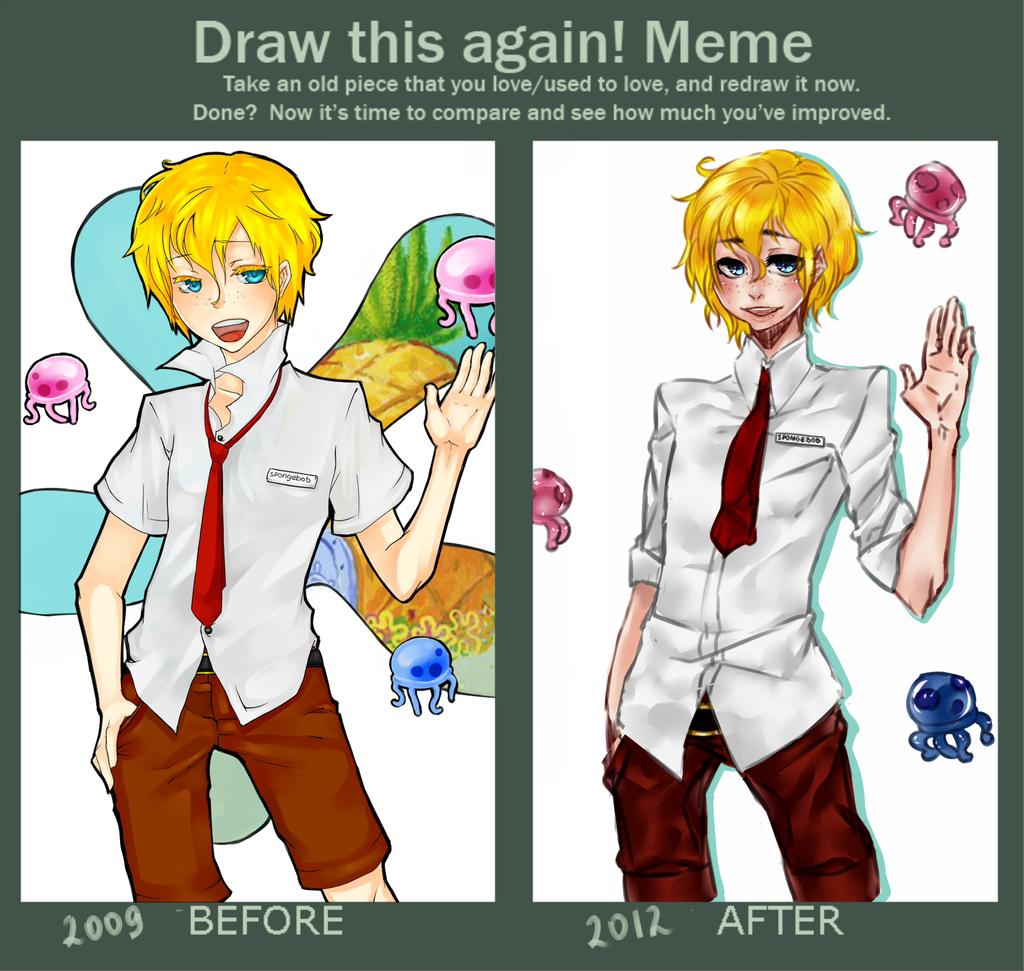 how to draw patrick meme