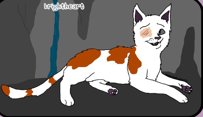 Brightheart warrior cat maker by warriorcatluver123 on deviantart