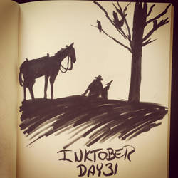 Inktober Day 31 by Alamus
