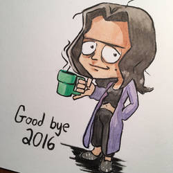 Good Bye, 2016 by Alamus