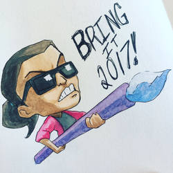 Bring It, 2017! by Alamus