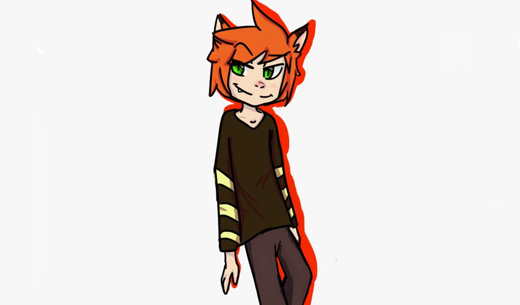 Fox Dude  by Leaf-worm