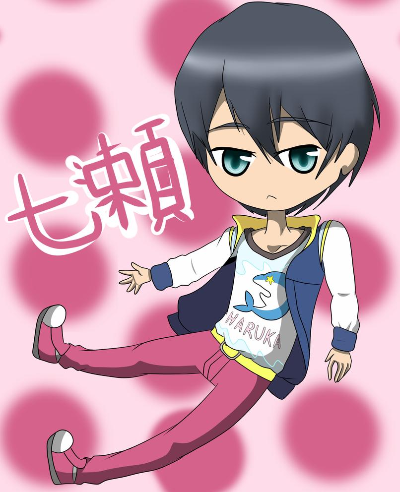 Haruka Nanase - Splash Free! by AiletaShyne1467