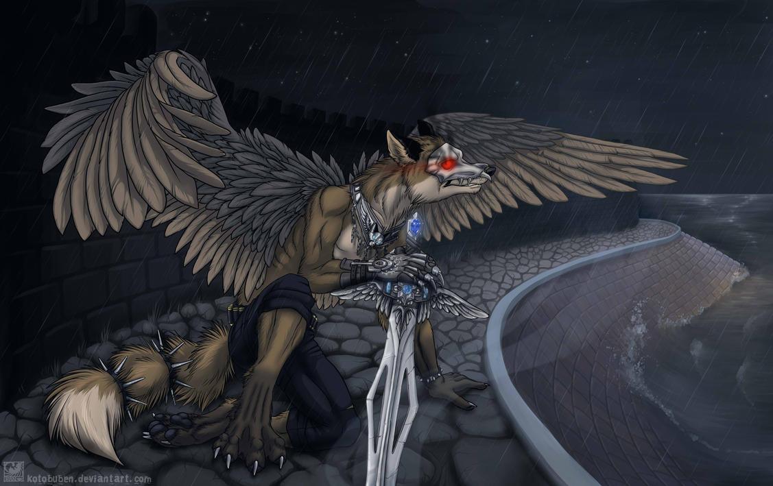 Fox Warrior by AvAmri on DeviantArt