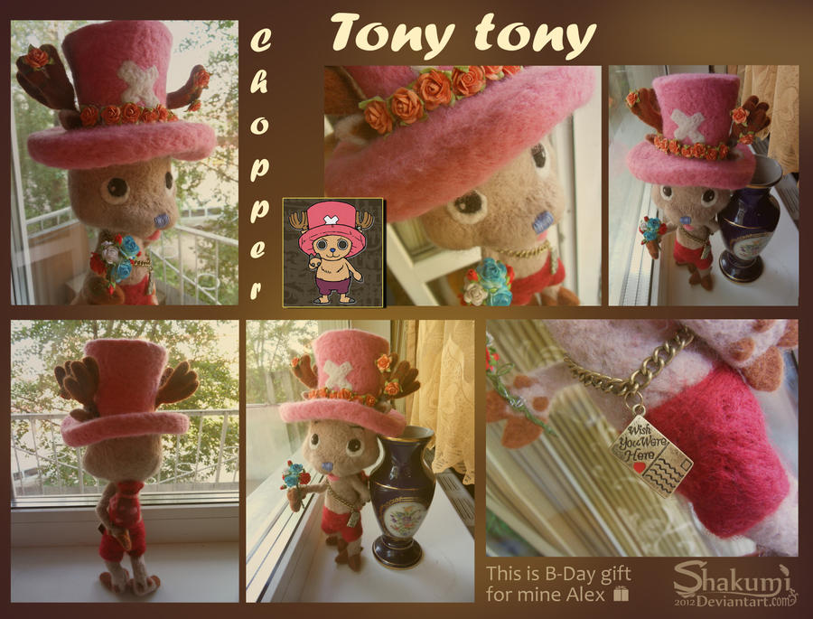 Tony tony Chopper by SHAKUMl