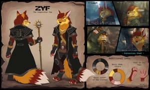 ZYF - the inquisitor fox ref-sheet