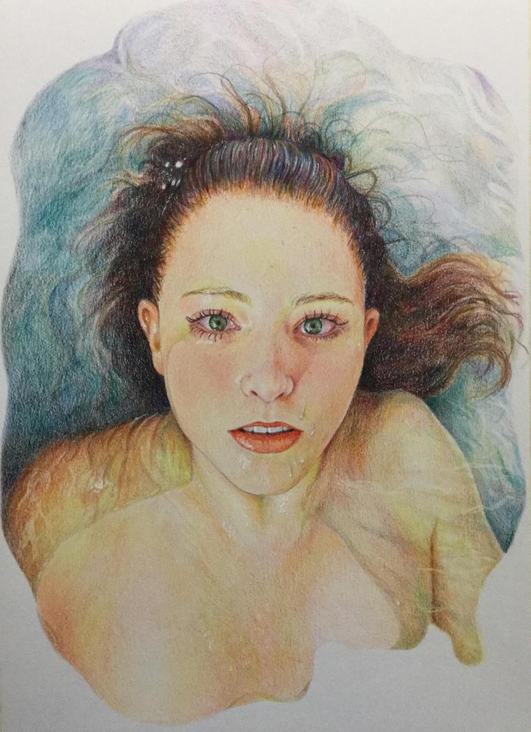 Girl in the water by stefynik