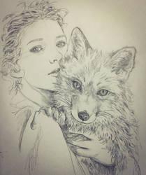 La volpe sketch