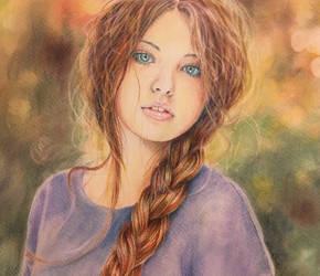 La ragazza con il sole tra i capelli