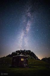 Hexagonal Shelter by Gomeisa-Studio