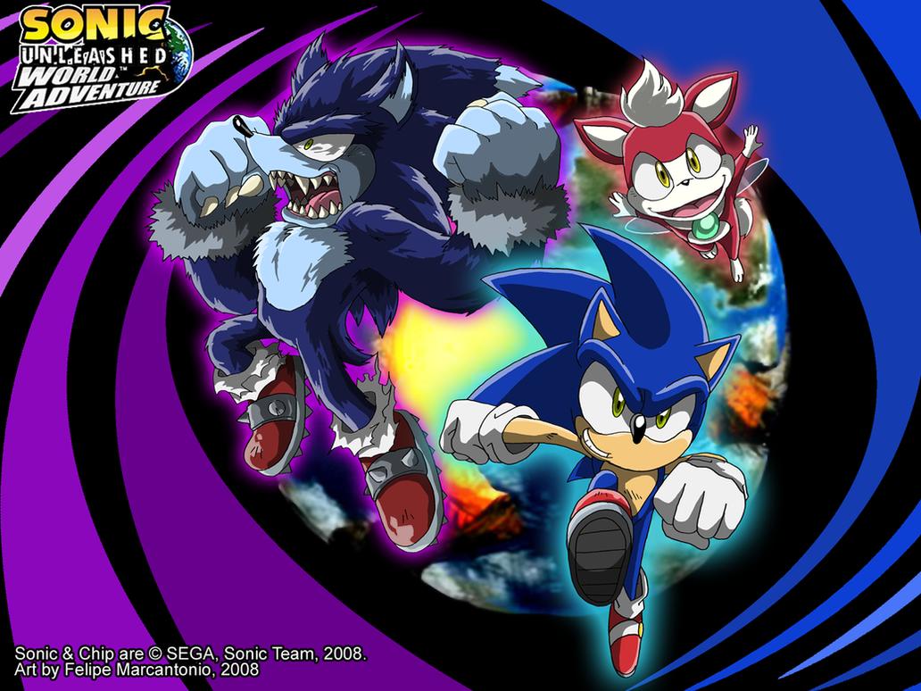 Sonic Unleashed - World Adv. by yuski