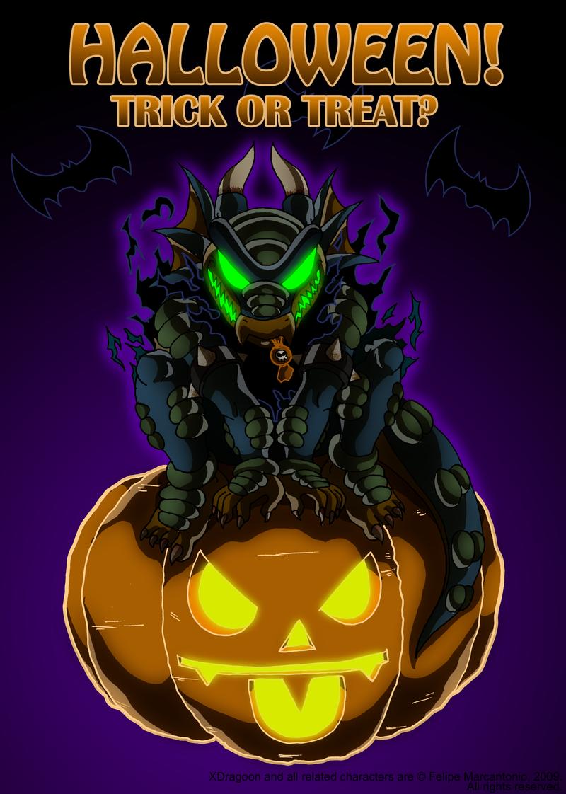 Halloween 2009 - XDragoon by yuski