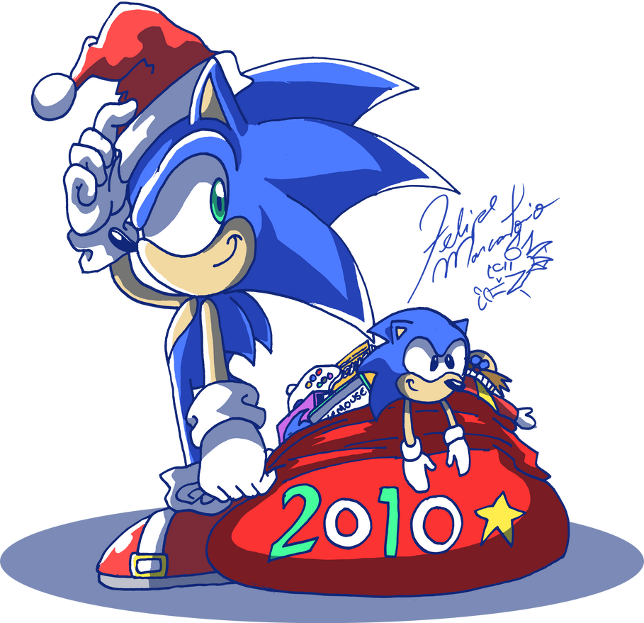 Late... Portal Sonic Christmas by yuski