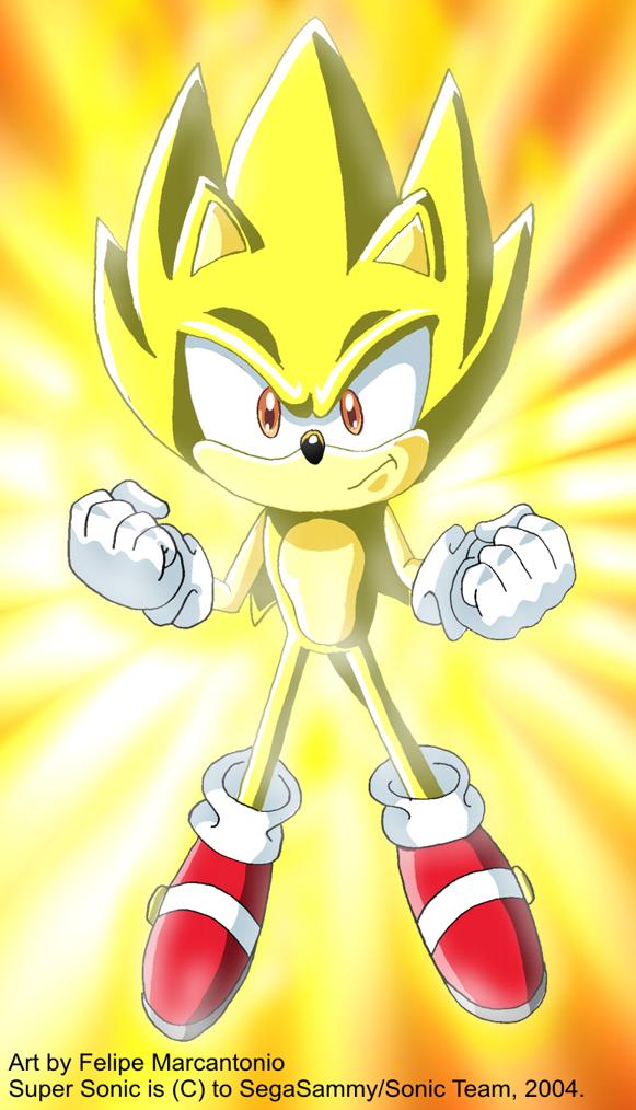 Super Sonic  Sonic X Style by yuski on DeviantArt