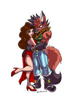 Fred and Jane by yuski