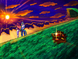 Dawn of new adventures by yuski