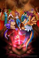 XDragoon - Animated Webseries Poster by yuski