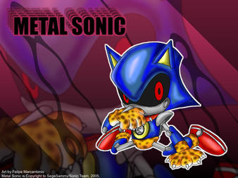 Metal Sonic Wallpaper by yuski