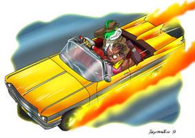 Loco Taxi by yuski