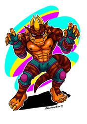 Wrestler Sarpedon