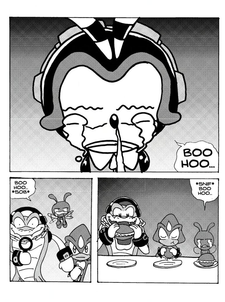 charmy bee coloring pages | Chaotix 03 - Page 01 by yuski on DeviantArt