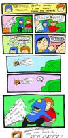 super red racer comic by D0N7P4N1C