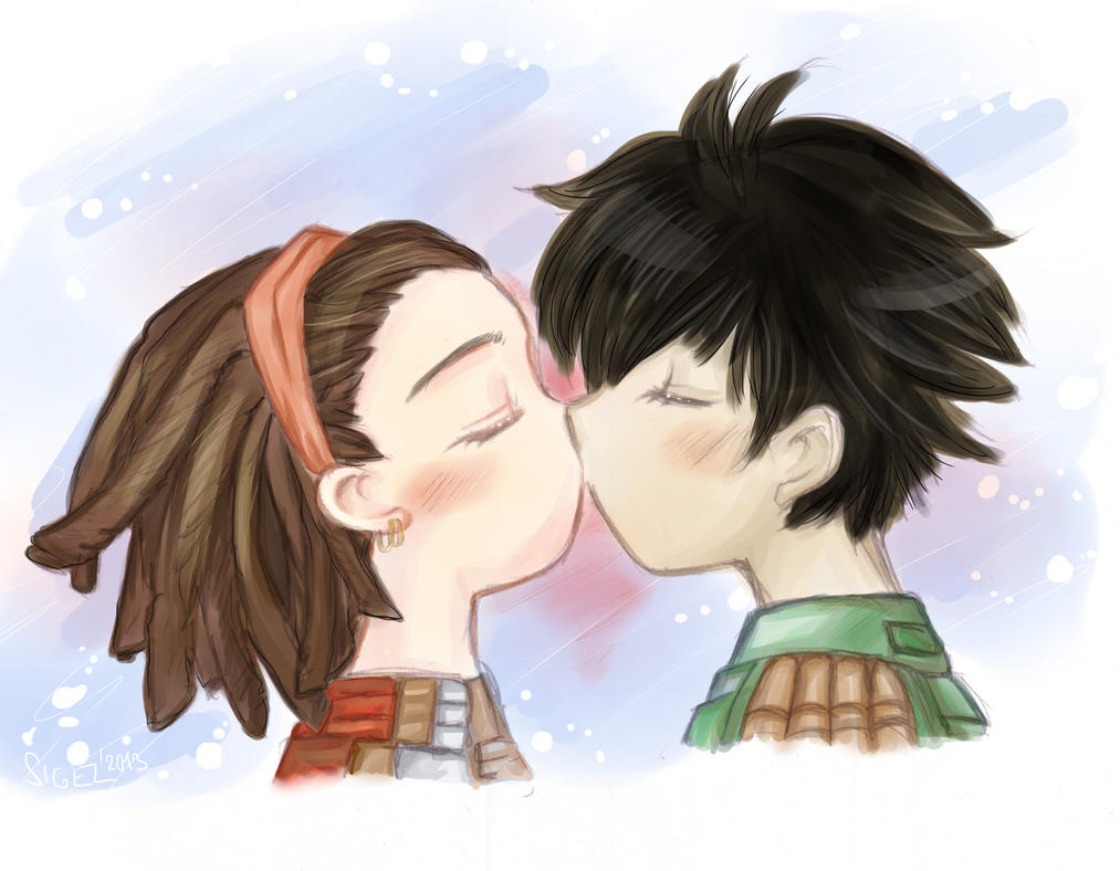 Kiss Kiss by RiaStarchild
