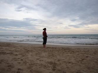 Face a la mer by bohwaz