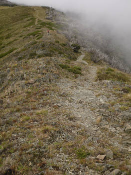 Mt Feathertop, one cloudy day of January 2016