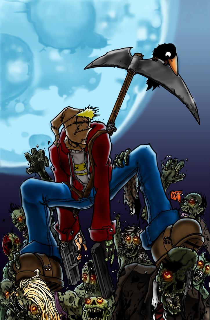 Eno vs zombies fianl by carlinx