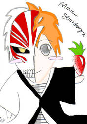 Mmm... Strawberry Ichigo by Redrebel106