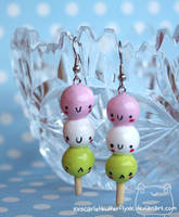 Dango Earrings by xXScarletButterflyXx