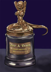 The Notty or Not a Trace Award by arshesnei