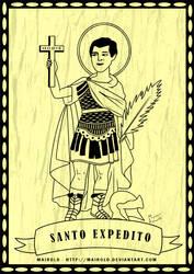 Santo Expedito by Mairold
