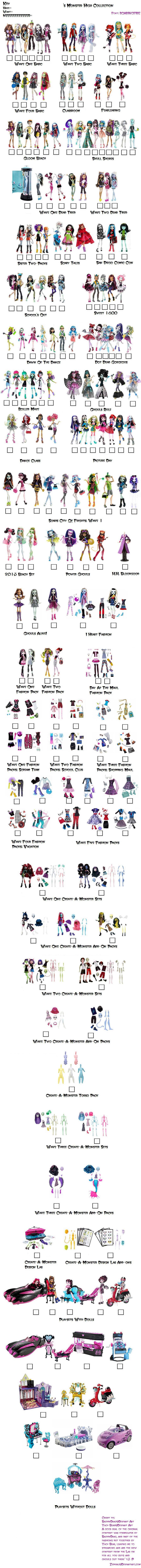 Monster High Doll Check