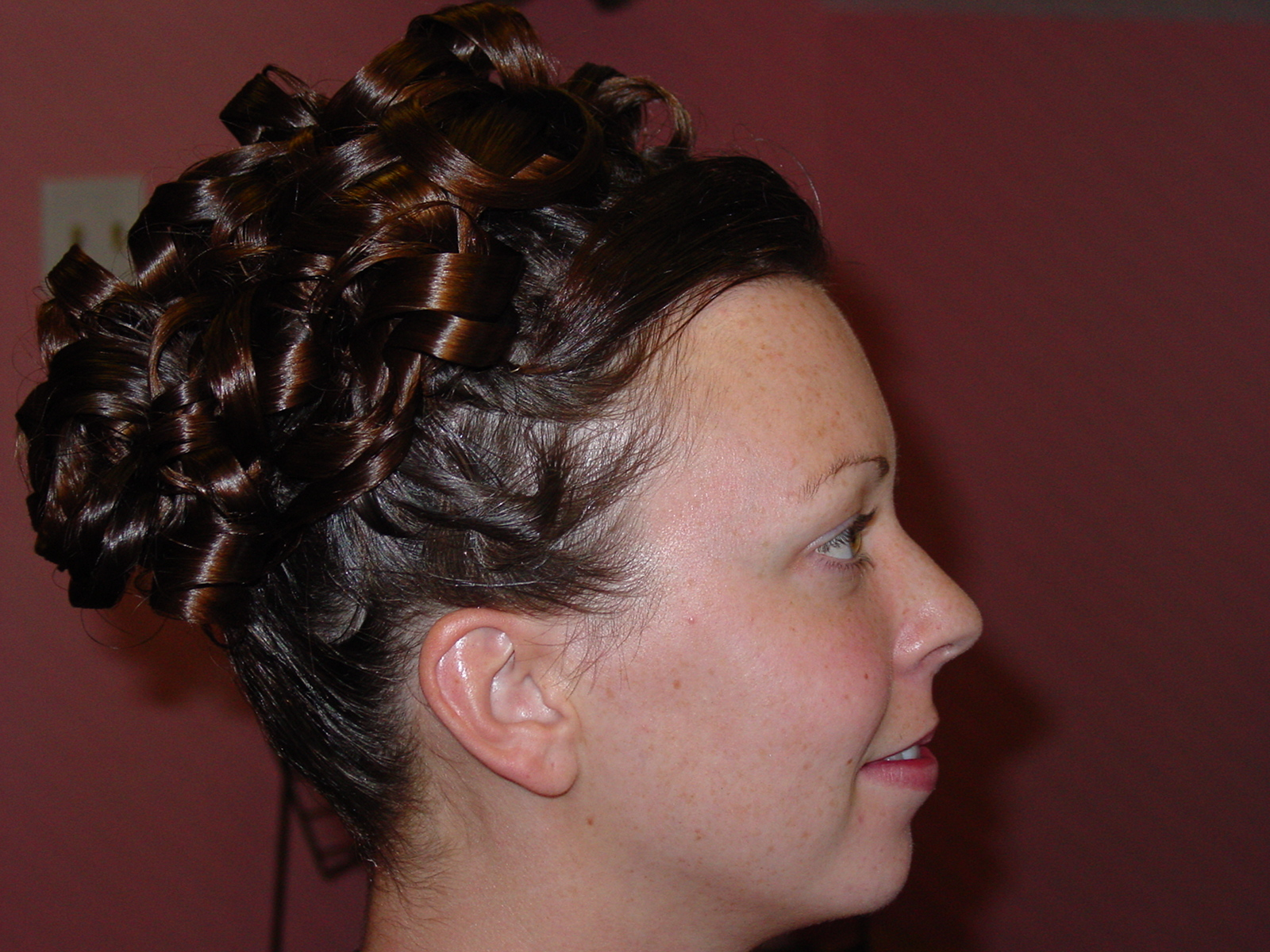 Wedding Updo profile