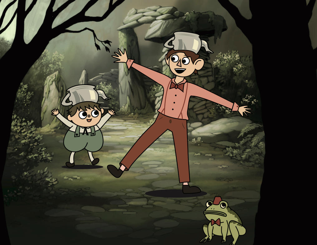 Doctor Who/Over the Garden Wall Crossover by Lumos5000