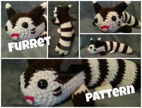 Furret Amigurumi Pokemon (with pattern)