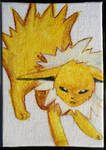 Mini Eeveelution canvases - Jolteon