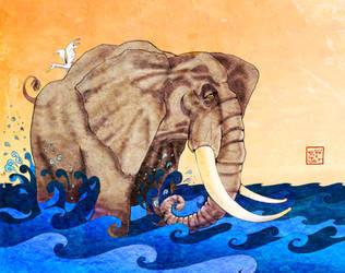 Elephant by skidone